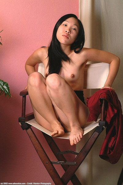 Vietnamese amateur Tamlin loosing hairy twat from see thru panties