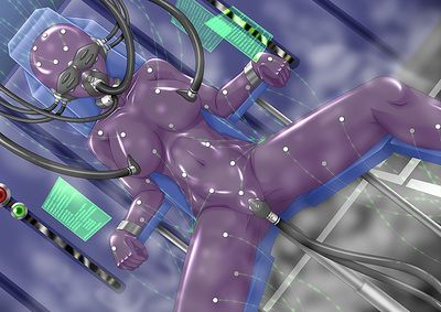 Busty anime minxes dream of their puffy nipples to be pinned and roped hard