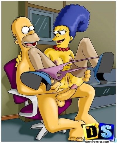 Simpsons uncover the secrets of their sexual life