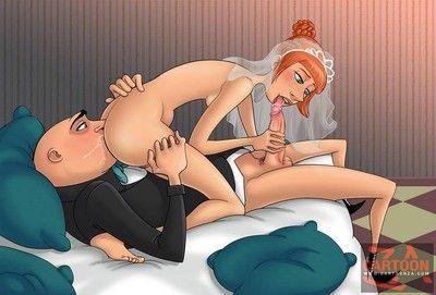 Hot fucking action by naughty cartoons