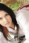 Babe in school uniform Maria Ozawa has got such a short skirt that it turns everybody on