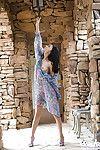 Ravishing asian coed Aino Kishi ucovering her graceful body