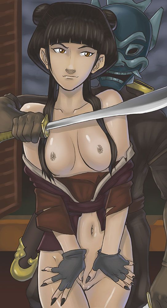 Hot sex pics of awesome cartoon babe Korra