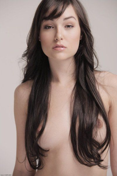 Require haired miniscule titty brunette hair darling Sasha Grey standing topless in inflexible panties