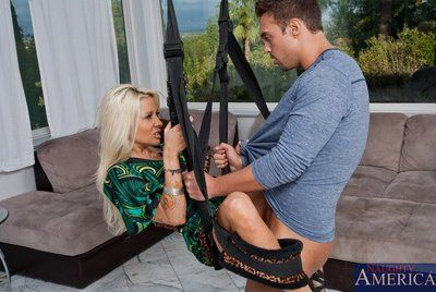 Throat and bawdy cleft of sassy vast titted honey Helly Mae Hellfire are worshipping the rod
