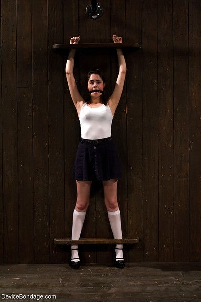 Juvenile hottie Lori Adorable having her schoolgirl uterus whipped