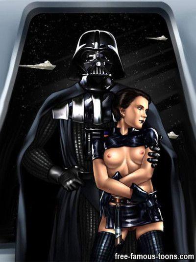 Star wars film heroes raw sex