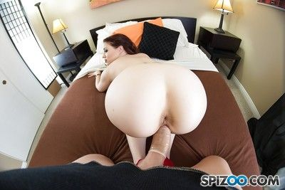 Hardcore whore Jessica Ryan giving gonzo blowjob & fucking immense cock cowgirl