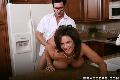 Deauxma shows her giant seasoned mambos to glassed stallion then gets screwed