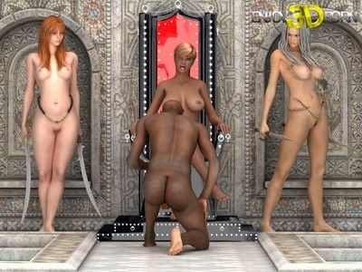 Black guy fucks three gorgeous girls