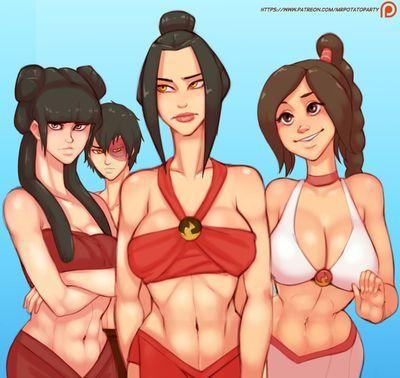 [MrPotatoParty] Avatar - Beach Day (ongoing)