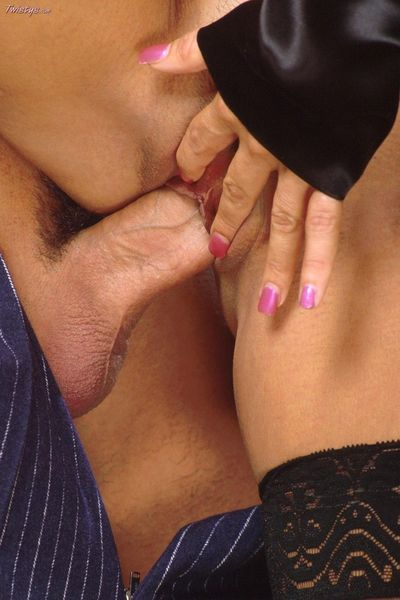 Jill Kelly satisfies her bf sucking his huge fat cock,and then allows him to pump her in every hole