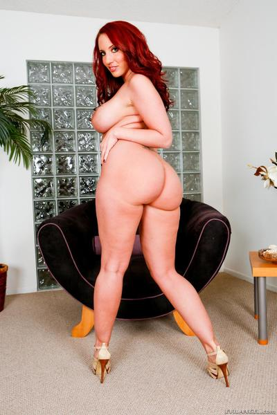 Busty chick Kelly Divine gets the big member in both holes and also in the throat