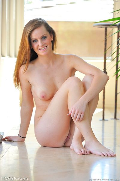 Sweetie amazes with her inflexible little ass space and that alluring pussy