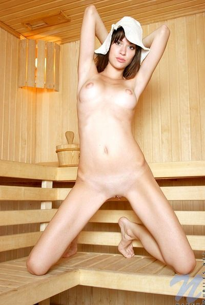Her juvenile body is positively mouth watering as Nansy A Nuria goes perfectly unclothed