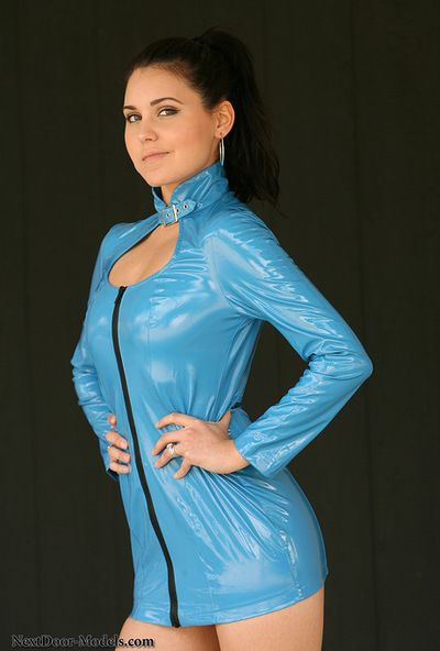 Hirsute dear is eager to get nude and pose her lovely forms in solo