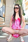 Lacey is needy to have fun with her marvelous gentile in public scene