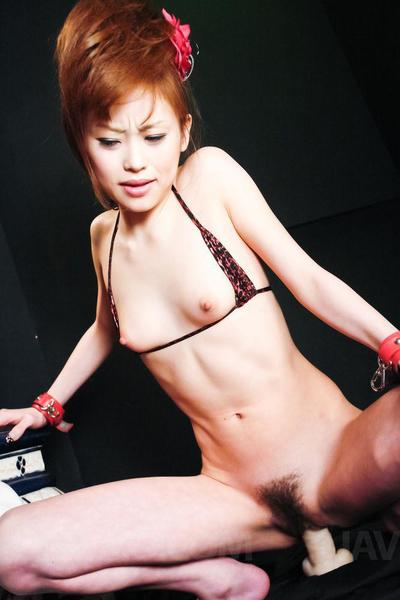 Miina Yoshihara is a untraditional Japanese young who keen to to feast on  and oral sex warm dick water shots