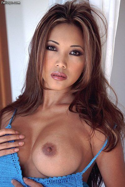 Oriental gal Teanna Kai takes her clothes off to full around with her sticking milk sacks and stiff pussyhole.