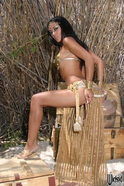 The Oriental hottie Kaylani Lei doesn't mind flashing some nudity on webcam