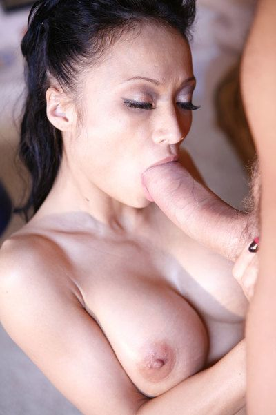 Kinky Japanese milf Logan James with mammoth fixed wobblers and rigid cum-hole keen to vast snake
