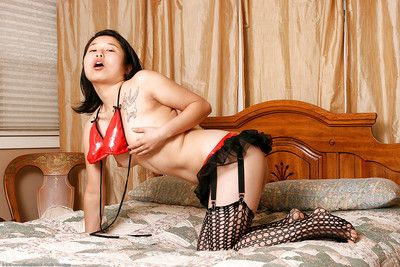 Eastern 1st timer Insignificant caresses compact scoops even as modelling fishnet