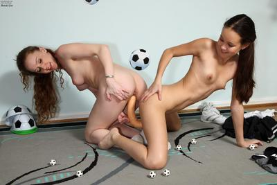 Petite Chinese Amai Liu and her girl-on-girl gf go behind up their workout with a toys & masturbation sesion