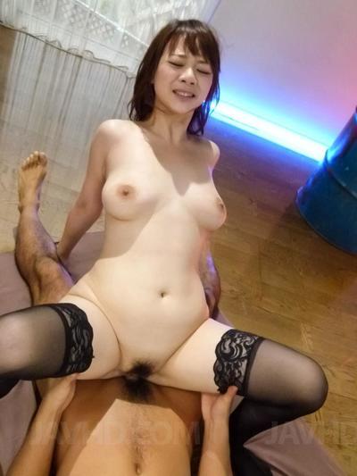 Salacious Eastern dear Arisa Araki is having sexual dick sucking and vaginal having benefit from with dualistic jocks
