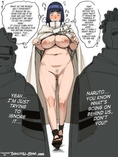 Naruto makes Hinata fuck