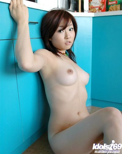 Compact eastern doll with spry love melons attractive off her Master and underwear