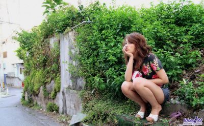 Livecam managed take the erotic pics of Nao Yoshizaki's damp and as mother gave birth body