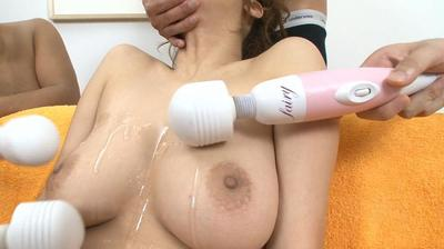 Insatiable Chinese doll Hinano has a toys & masturbation gathering with a total bunch of studs