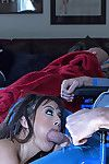 Useful girl Daisy Summers is fondling and orally fixating disabled guy\'s pecker and getting dug by his collaborator
