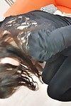 يوشي kiyokawa هو واحد مذهلة آسيا العاهرة أن يوسع لها الساقين واسعة