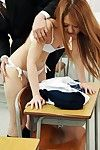 Chinese marsh mellow in a schoolgirl uniform Sakamoto Hikari gives orall-service fucking submission and takes a hardcore boning