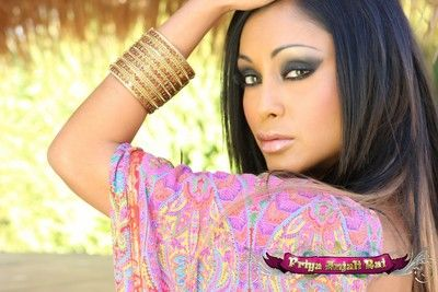 Pulchritudinous leader Indian Pornstar, Priya Anjali Rai, looks stunning relating to and widely of her magnificent..