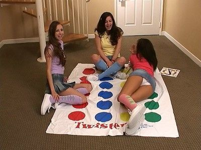 Playing twister involving some be proper of my girlfriends