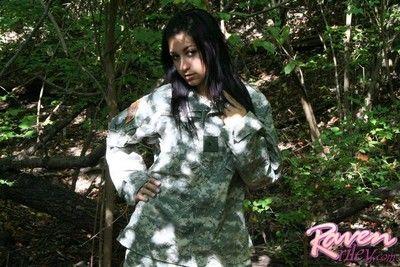 Gloomy being an army brat