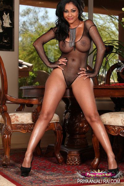 Priya rai is dolled less yon her see thru synod suit