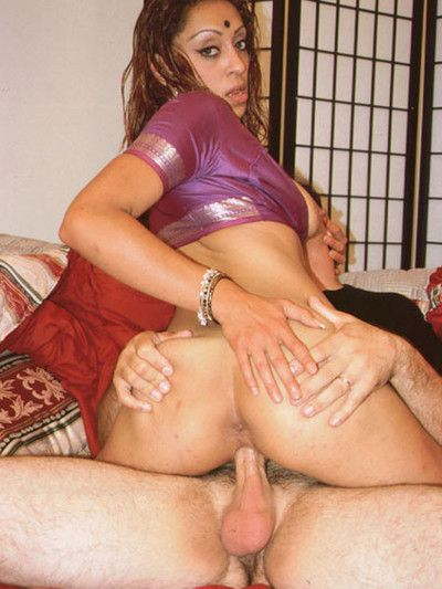 Indian unpaid babe gets boned hard away from two stiff cocks