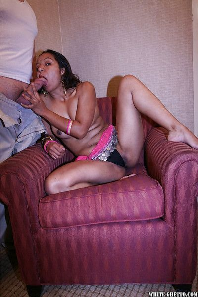Jizz voracious indian slut receives a cumshot mesh hardcore fucking