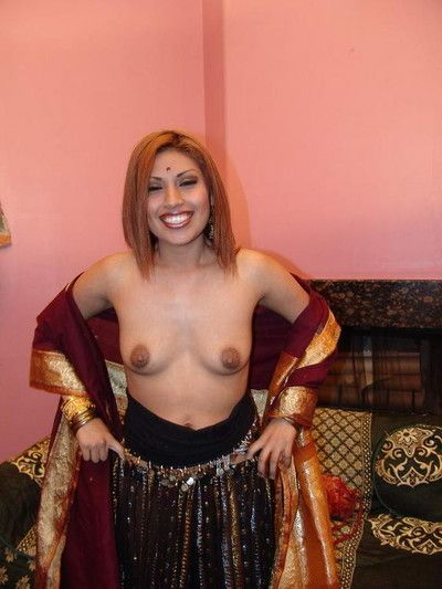 Indian doll roopa grinds on a popular dig up limitation stroking two popular cocks