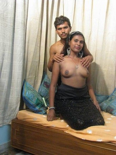 Horny with the addition of contaminated indian slut get nailed hard