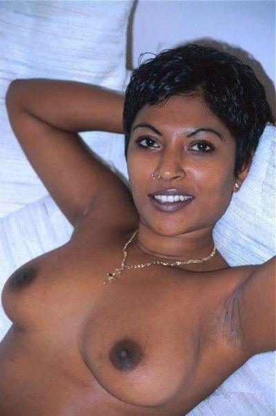 Indian girl posing naked