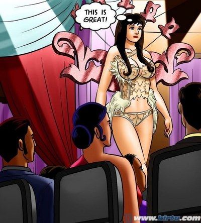 Group,Indian Porn,SavitaBhabhi,Adult Comics,Savita Bhabhi -71 � Pussy above the Catwalk