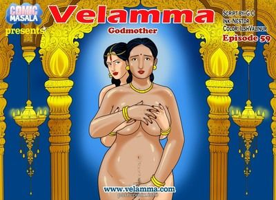 Big Boobs,Indian Porn,milf,Velamma,Adult Comics,Velamma 59- Godmother