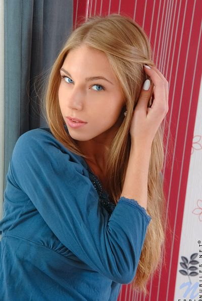 Smoking hot and humble nobles Krystal Boyd with pretty face is seductive off her drawers indoors