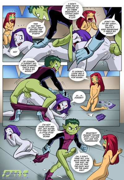 Teen Titans - Mind Prosecute Zoological Boy or Mating season