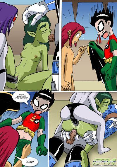 Teen Titans - Mind Prosecute Zoological Boy or Mating season