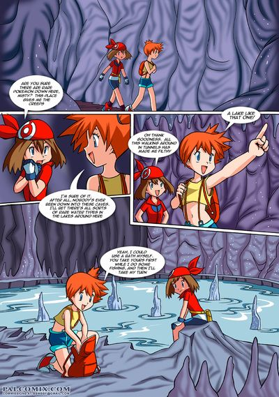 Pokemon coitus comics with slutty teens added to horny monster